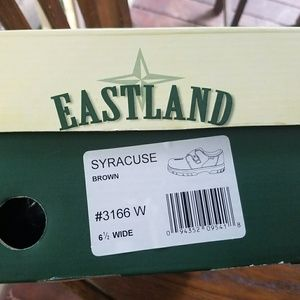 Eastland brown leather shoes